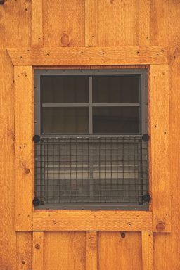 chicken coop accessories Wire Over Window Option