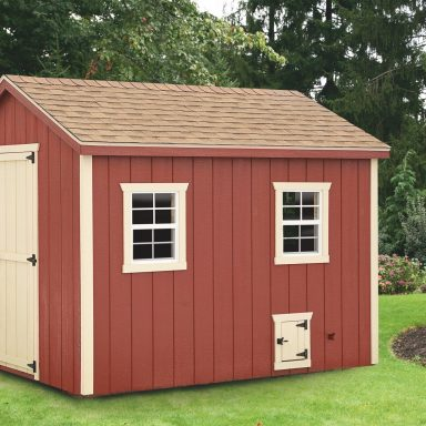 pictures of chicken coops A Frame With Duratemp® siding