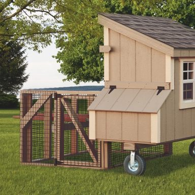 chicken coop tractor 3x5 Lean To Tractor 2