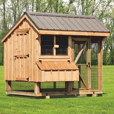 pictures of chicken coops and run 6x8 Combination