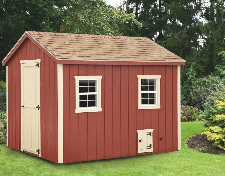 back yard chicken coops 8x10 A Frame