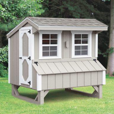 quaker style backyard chicken coop