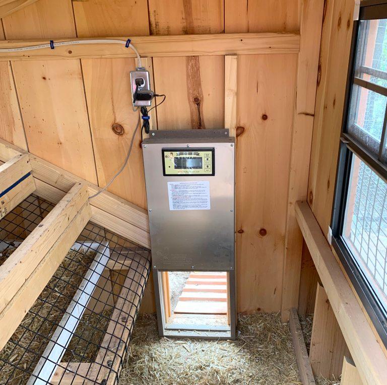 auto door chicken coop in utah