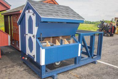 chicken coop with wheels