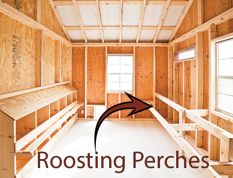 roosting perches