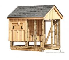 chicken coop and run A46C