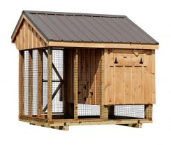 chicken coop and run Q68C back