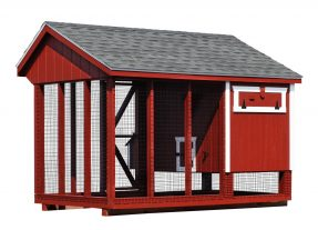 chicken coop and run Q610C D