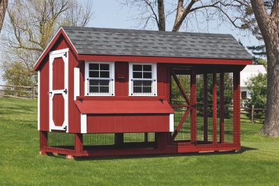 chicken coop and run 6x12 Combination