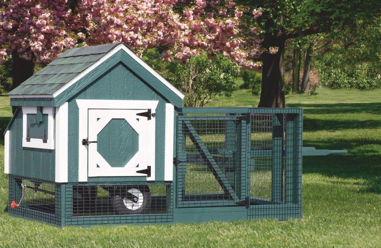 chicken coop tractor 3x3 tractor painted