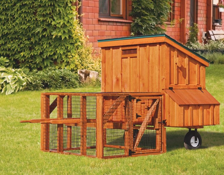 chicken coop tractor 3x5 Lean To Tractor