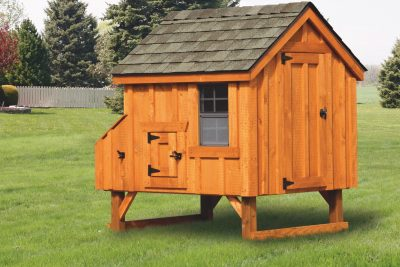 a frame chicken coop 4x4 A Frame