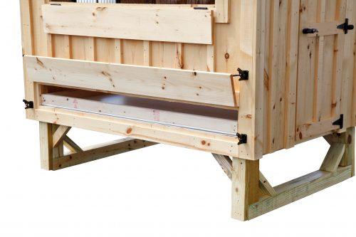 a frame chicken coop BB A46 3