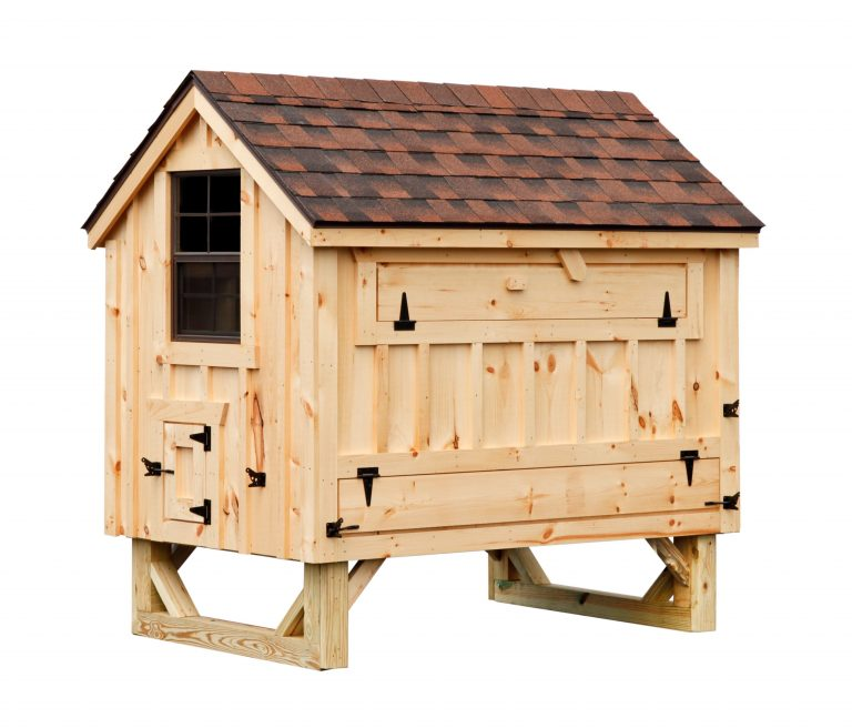a frame chicken coop BB A46 9