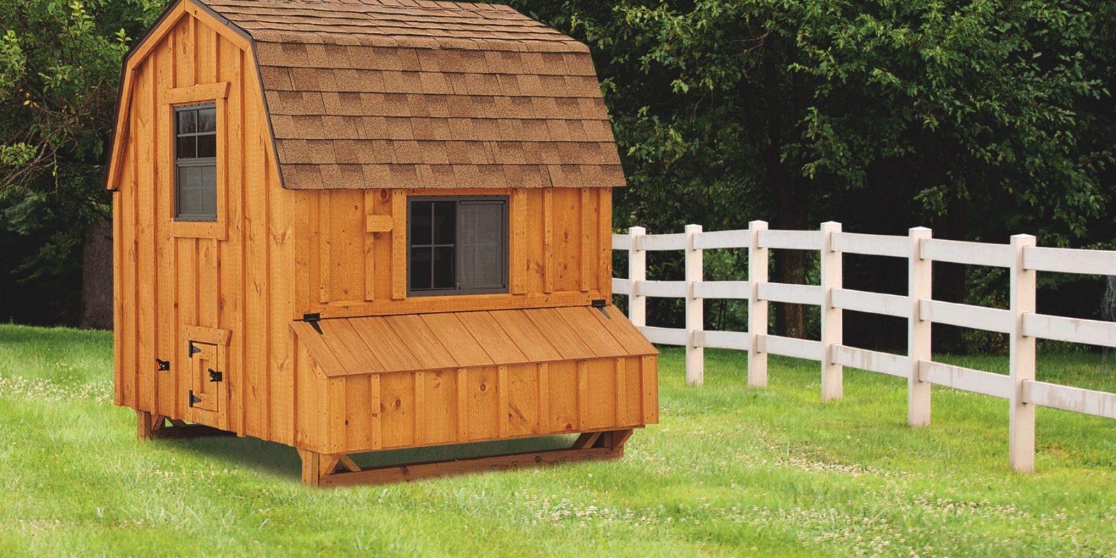 barn style chicken coops 6x6 Dutch