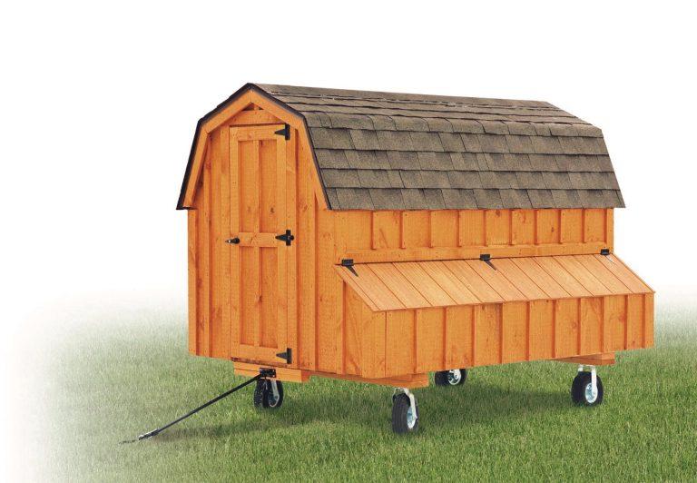 barn style chicken coops 4x8 Dutch