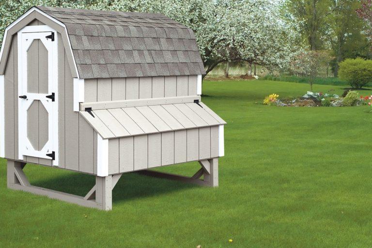 barn style chicken coops 4x6 Dutch 1