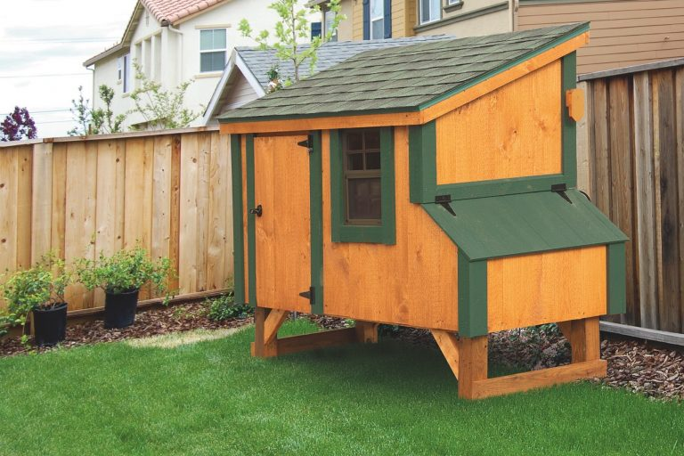 small chicken coops 3x5 Lean To