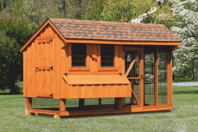 pre made chicken coops 6x12 Combination