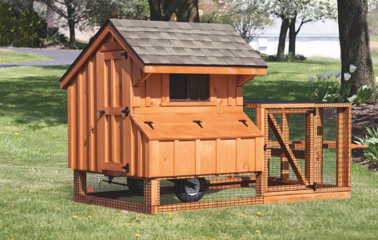 wooden chicken coops Q44T BB
