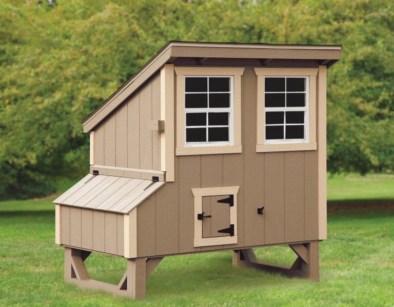 backyard chicken coops 4x5 Lean To