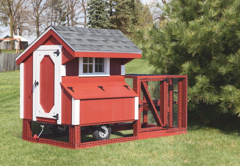 portable chicken coops on wheels 4x4 tractor painted
