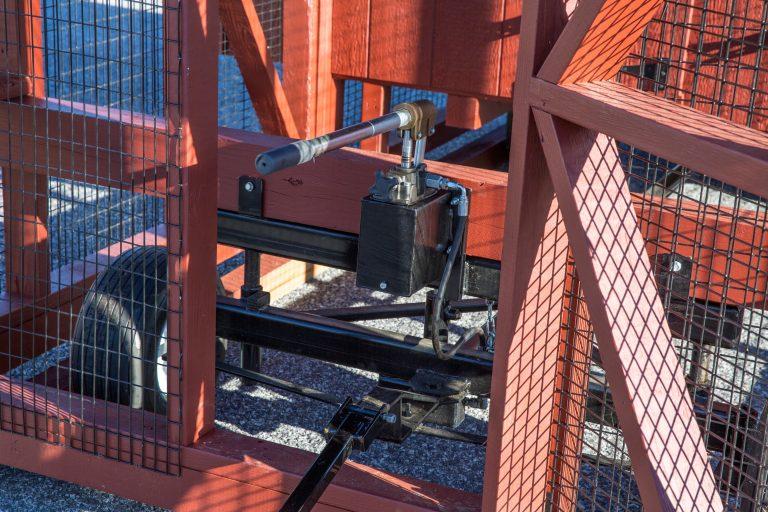 Heavy Duty Wheel System with Hydraulic Lift