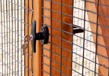 keyed entry door
